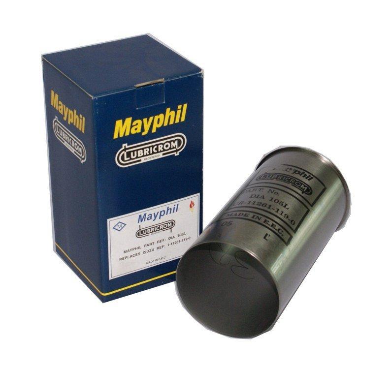 ปลอกลูกสูบ MAYPHIL สำหรับ รถยนต์ อีซูซุ ISUZU FVM-Z 175HP(6BG1)อะไหล่แท้รถยนต์(รหัสอะไหล่DIA105/L)
