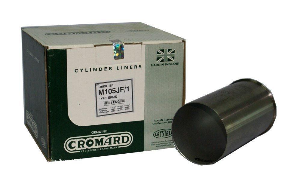 ปลอกลูกสูบ CROMARD สำหรับ รถยนต์ อีซูซุ ISUZU NKR 110HP (4BE1) อะไหล่แท้รถยนต์(รหัสอะไหล่ M105JF/1)