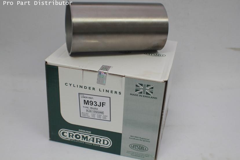 ปลอกสูบ CROMARD สำหรับ รถยนต์ อีซูซุ ISUZU  KBZDI-TFR (4JA1) อะไหล่แท้รถยนต์(รหัสอะไหล่ M93JF)