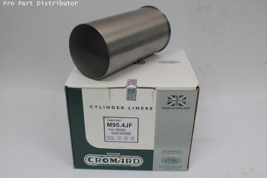 ปลอกสูบ CROMARD สำหรับ รถยนต์ อีซูซุ ISUZU TFR 3.0 (4JG2) อะไหล่แท้รถยนต์(รหัสอะไหล่ M95.4JF)