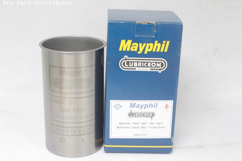 ปลอกลูกสูบ MAYPHIL รถยนต์ อีซูซู TL82,NKR(4BC2) อะไหล่แท้ รถยนต์ ลูกสูบรถยนต์ (รหัสอะไหล่ DIA102/S)