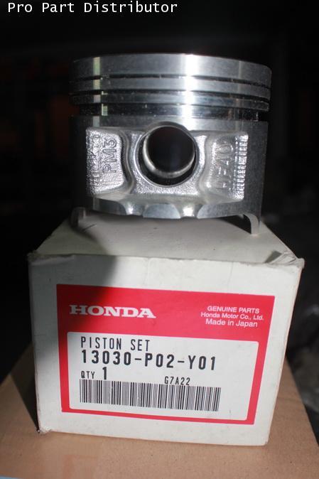 ลูกสูบ ขนาด 0.50 รถยนต์ ฮอนด้า ซีวิค HONDA CIVIC 1992 หัวฉีด อะไหล่แท้ (รหัสอะไหล่ 13030-P02-Y01)