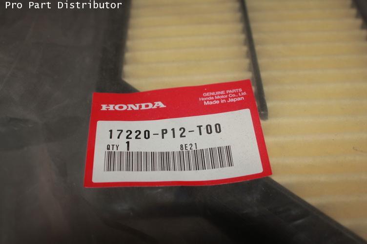 ไส้กรองอากาศ อะไหล่แท้ รถยนต์ ฮอนด้า HONDA PRELUDE อะไหล่แท้ ฮอนด้า (รหัสอะไหล่แท้ 17220-P13-505)