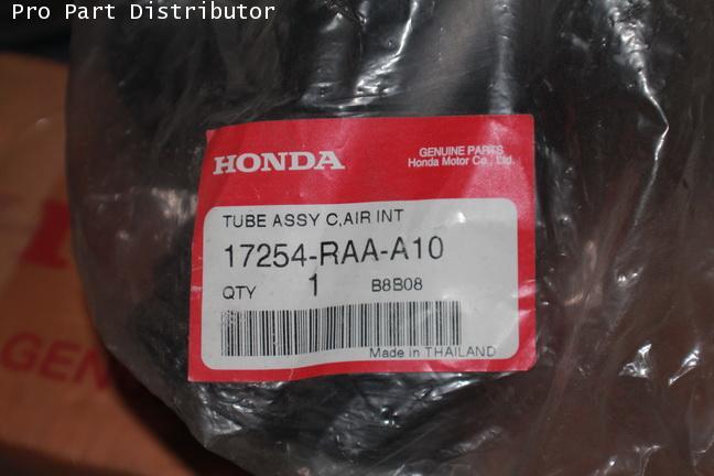 ชุดท่อแอร์ อะไหล่แท้ รถยนต์ ฮอนด้า HONDA อะไหล่แท้รถยนต์ ฮอนด้า (รหัสอะไหล่แท้ 17254-RAA-A10)