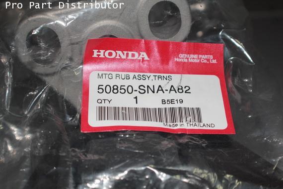 ยางแท่นเครื่องหน้า รถยนต์ ฮอนด้า ซีวิค HONDA CIVIC 2006-09 A/T อะไหล่แท้ฮอนด้า (รหัส 50850-SNA-A82)