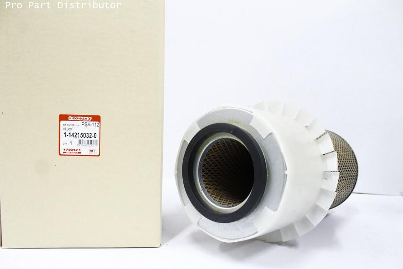 ไส้กรองอากาศ POWER-S สำหรับ รถยนต์ อีซูซุ ISUZU JCM (1-14215032-0) อะไหล่แท้ รถยนต์(รหัส PSA-112-S)