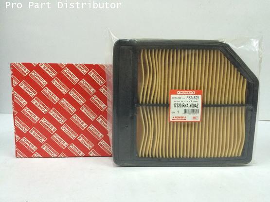 ไส้กรองอากาศ POWER-Sสำหรับ รถยนต์ ฮอนด้าHONDA CIVIC 1.8 2006-09(17220-RNA-Y00)อะไหล่(รหัส PSA-529-S)