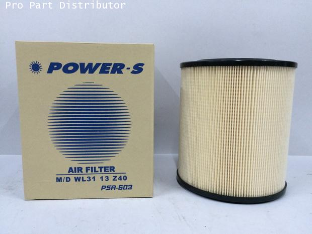 ไส้กรองอากาศกลม POWER-S สำหรับ รถยนต์ มาสด้า MAZDA FIGHTER(WL3113Z40) อะไหล่แท้(รหัส PSA-603-S)
