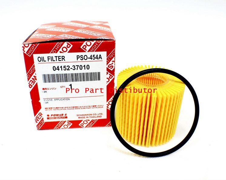 ไส้กรองน้ำมันเครื่อง POWER-S PSO-454A สำหรับ โตโยต้า(04152-37010)