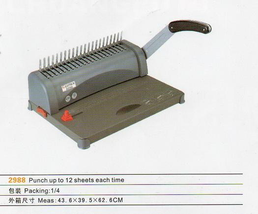 เครื่องเข้าเล่มกระดูกงู  COMIX 2988