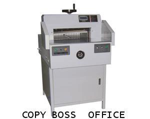เครื่องตัดกระดาษไฟฟ้า  CB 520 A  (มือหมุน)  ตัดได้ 650 แผ่น