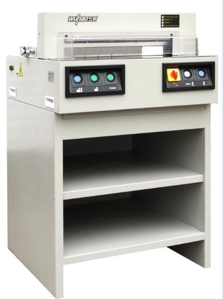 NEW!!!  เครื่องตัดกระดาษ  PRT 4505 A   ระบบอัตโนมัติ  พร้อมชั้นวางของ