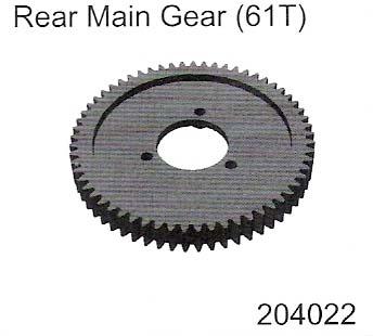 Rear Main Gear