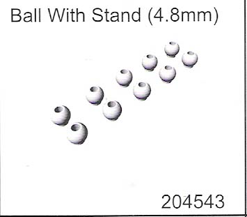 Ball With Stand (4.8mm)