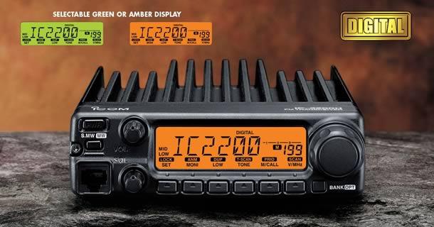 วิทยุสื่อสาร ความถี่สมัครเล่น  ยี่ห้อ : ICOM IC-2200T