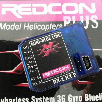 ไจโล 3G REDCON Mini-Blue Line TRIPLE-X