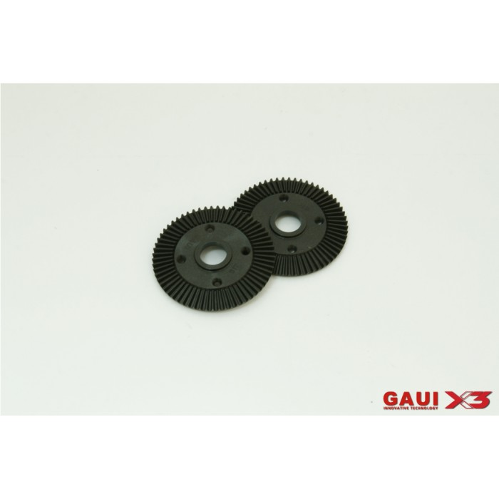 216181,GAUI X3 61T Crown Gear x2pcs ..