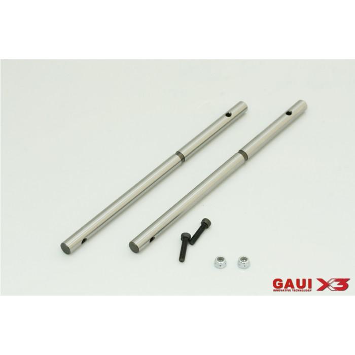 216201 GAUI X3 Main Shaft 125mm x2pcs