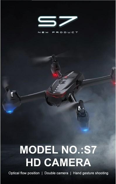 Drone S7 โดรนสำหรับถ่ายภาพ มุมสูงหรือมุมต่ำ