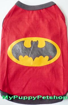 +หมดค่ะ+ เสื้อสุนัข BATMAN (เบอร์ 4)