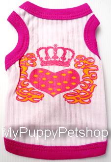+++หมดค่ะ+++เสื้อสุนัขและแมว สไตล์ Juicy couture น่ารักมาก ไฮโซสุดๆ (เบอร์ 3)