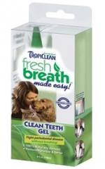 Fresh Breath Clean Teeth Gel เจลขจัดคราบหินปูน กลิ่นปาก ป้องกันฟันผุ ฟันขาว ปากหอมสดชื่น USA 118 ml