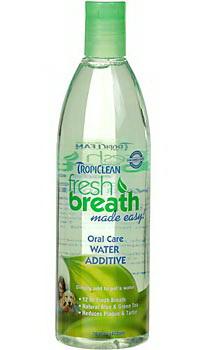Fresh Breath  Water Additive ขจัดคราบหินปูน กลิ่นปาก ป้องกันฟันผุ ฟันขาว ปากหอม USA 16 oz