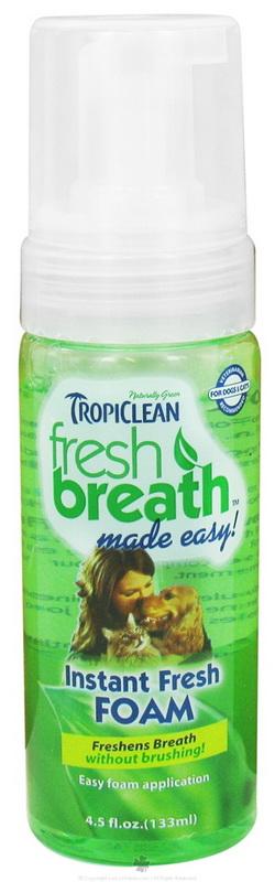 Fresh Breath Instant Fresh Foam ใช้แทนยาสีฟัน กินได้ ฟันสะอาด ปากหอมสดชื่น กำจัดแบคทีเรีย USA