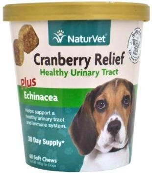 Cranberry Relief Plus Echinacea ป้องกันโรคนิ่ว เสริมระบบปัสสาวะ บำรุงไต เสริมภูมิ USA 60 ชิ้น