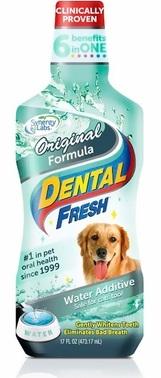 Dental Fresh Original ขจัดกลิ่นปาก ยับยั้งคราบหินปูน ปกป้องเหงือกและฟัน (503 ml) ขวดใหญ่