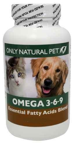 Only Natural Pet Omega 3-6-9 บำรุงขนเงางาม ผิวหนังแข็งแรง สมอง หัวใจแข็งแรง (แบ่งขาย 30 เม็ด)