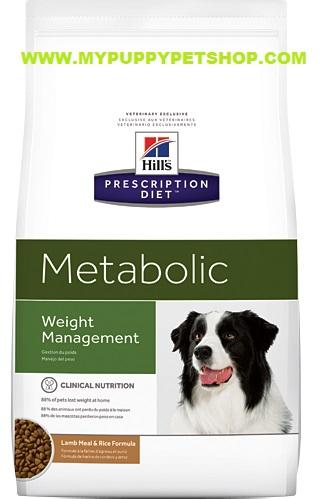 (Pre Order) Hill Prescription Diet Metabolic อาหารสุนัขสูตรลดน้ำหนัก ควบคุมน้ำหนัก  (บรรจุ 3.5 กก)