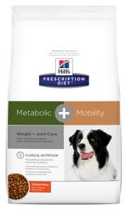 (พร้อมส่ง) Hill Prescription Metabolic+Mobility อาหารสูตรลดและควบคุมน้ำหนัก เสริมบำรุงข้อ (4.31 กก)