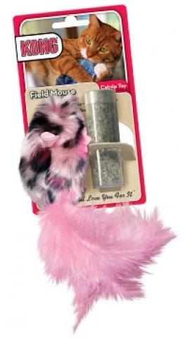 Kong Field Mouse Catnip Toy ของเล่นแมว เจ้าหนูนุ่มนิ่ม แถมแคทนิปไว้ยัดในหนูด้วย นำเข้าจาก U.S.A