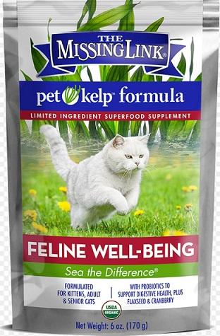 CAT WELL-BEING (Organic) วิตามินรวมแมว เสริมภูมิ ต้านมะเร็ง กันนิ่ว เสริมระบบขับถ่าย USA (170 g)