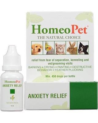 Anxiety Relief (ชนิดน้ำ) สัตว์เลี้ยงกิน ช่วยลดภาวะเครียด ตื่นกลัว กระวนกระวาย เห่าร้องไม่หยุด