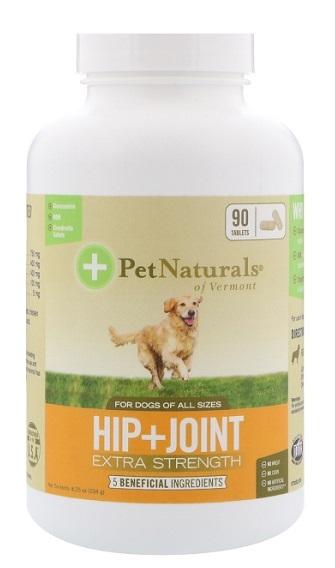 Pet Hip+Joint Extra Strength รักษาข้อเสื่อม ข้อหลุดหลวม เดินขากระเผก ได้ผลดีสุด (แบ่่งขาย 30 เม็ด)
