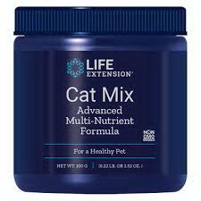 Cat Mix Advanced วิตามินรวมแมว เสริมภูมิ บำรุงเลือด สมอง ตา หัวใจ เสริมระบบขับถ่าย USA (100 g)