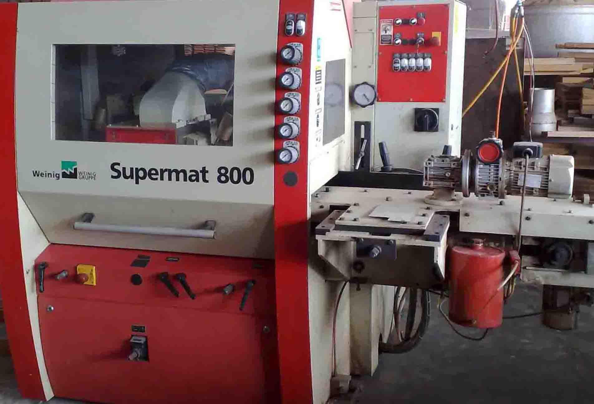 เครื่องไส4หน้า ไวนิค รุ่น Supermat 800 (USER)