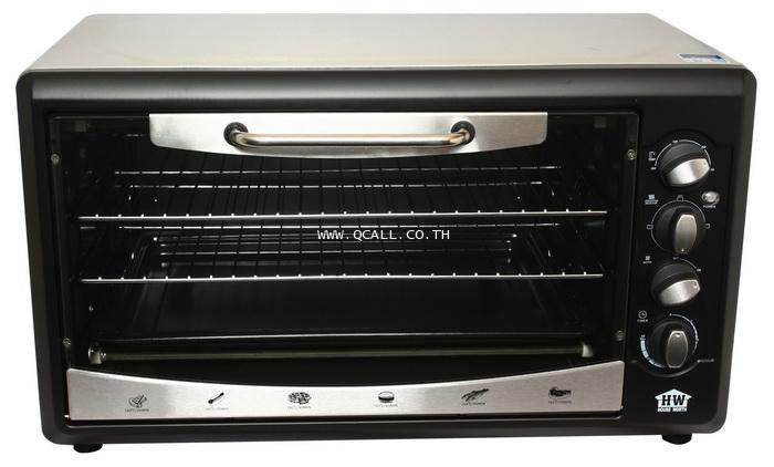 เตาอบลมร้อน 53 ลิตร ใหม่ล่าสุดของHOUSE WORTH เฮ้าส์เวิร์ด รุ่นEO-03 ดีไซน์สวย ส่งฟรีถึงที่ทั่วประเทศ