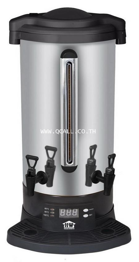ถังต้มน้ำร้อนดิจิตอล หม้อต้มน้ำ23ลิตร 2หัวก๊อกHouse Worth รุ่นEU-04 ตั้งอุณหภูมิได้ ส่งฟรีทั่วประเทศ