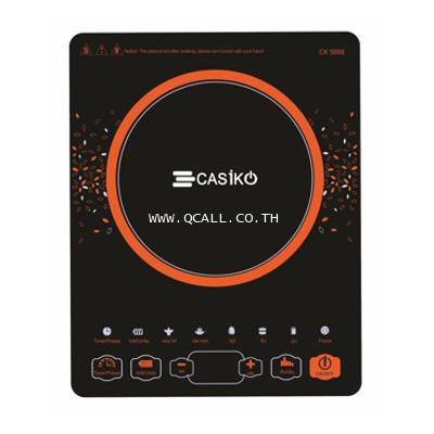 เตาแม่เหล็กไฟฟ้าแถมหม้อสุกี้3ลิตร คาสิโกCASIKO รุ่นCK-5888 Display2,200วัตต์ ส่งฟรีถึงที่ทั่วประเทศ 1