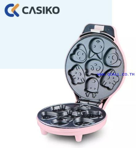 เครื่องทำขนมไข่ลายการ์ตูน 7 ชิ้น คาสิโก CASIKO รุ่นCK-5002 ส่งฟรีถึงที่ทั่วประเทศ