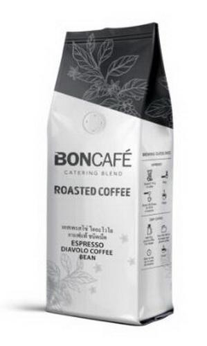 เมล็ดกาแฟคั่ว คุณภาพบอน BONCAFE สั่งได้ไม่มีขั้นต่ำ สั่งยกลังมีส่วนลด ส่งฟรีถึงที่กรณีมากกว่า9ถุง