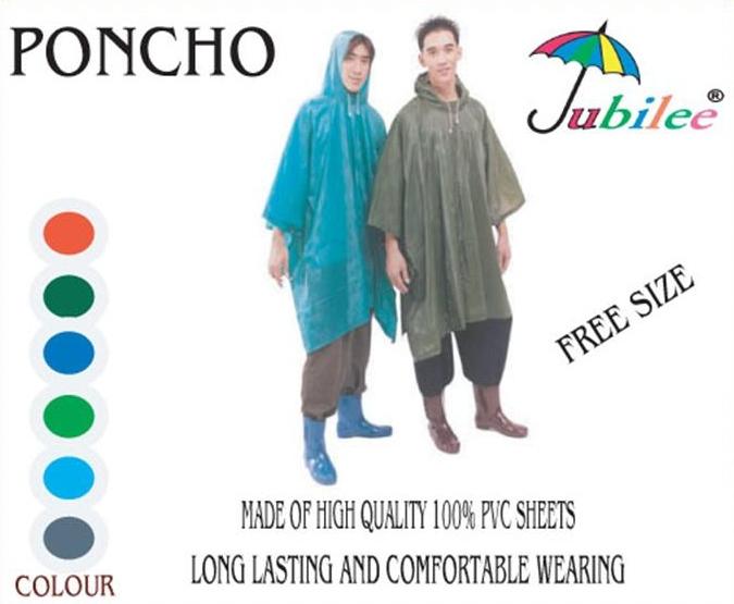 เสื้อกันฝนผู้ใหญ่ ปันโจ ผ้าโปร่ง แบบค้างคาว รุ่น 30-RG007 2