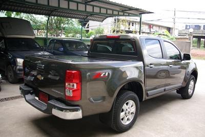 Roller-up สำหรับ Chevrolet colorado 2012 4Dr. สีดำ