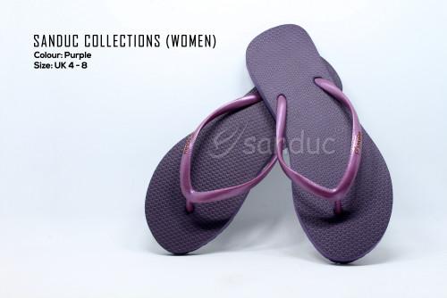 Sanduc Casual Women Flip Flops Slipper Sandal (Purple)