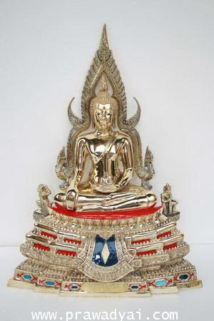 พระบูชา พระพุทธชินราช 7 นิ้ว ขัดมัน (พิมพ์เก่า)