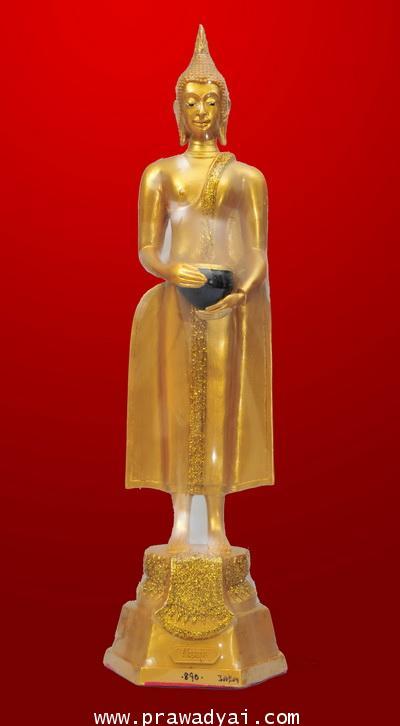 พระบูชา พระประจำวันพุธ กลางวัน ปางอุ้มบาตร (เนื้อเรซิ่น) 9 นิ้ว