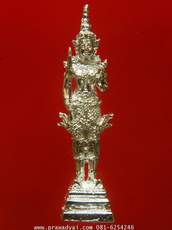 เทวรูปบูชา พระบูชา พระสยามเทวาธิราช 5 นิ้ว ปิดทองแท้
